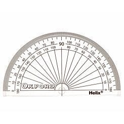 Helix Protractor 180 Degree 10cm