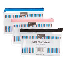 Clear Pencil Case 203x127mm (8x5')