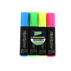 Ryman Highlighters Pack of 4
