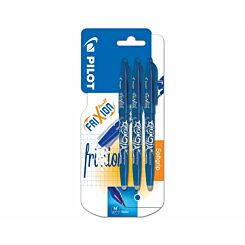 Pilot Erasable Frixion Rollerball Triple Pack