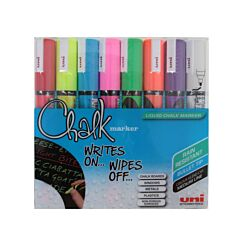 uni-ball Chalk Markers PWE 5 Assorted pack of 8