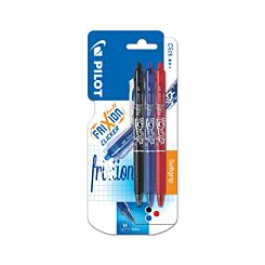 Pilot Frixion Clicker Pack of 3