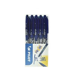 Pilot Frixion Rollerball Pack of 5 Blue