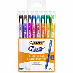 BiC Gelocity Gel Pens Pack of 16