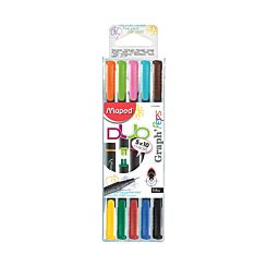Maped Graph Peps Duo Pack of 5 0.4mm