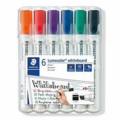 Staedtler Lumocolor Whiteboard Markers Pack of 6