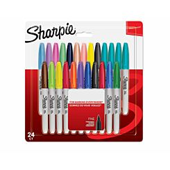 Sharpie Fine Permanent Markers Pack of 24