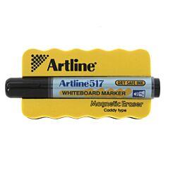 Magnetic Board Eraser and Free Marker