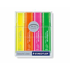 Staedtler Textsurfer Highlighters Pack of 4