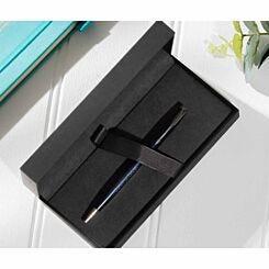 Personalised Engraved Parker Sonnet Blue Lacquer Ballpoint Pen