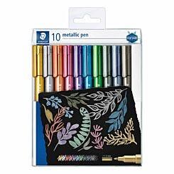 Staedtler Design Journey Metallic Pens Pack of 10