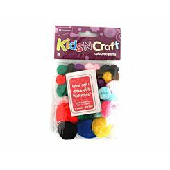 Ryman Activity Kit Colour Poms