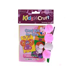 Ryman Activity Greeting Card Kit Pink