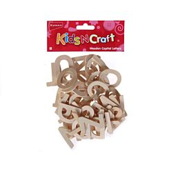 Ryman Kids N Craft Activity Kit Wooden Letters Capital
