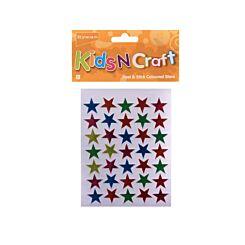 Ryman Activity Kit Adhesive Coloured Stars