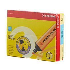 STABILO Boss Highlighter Fluorescent Pack of 10