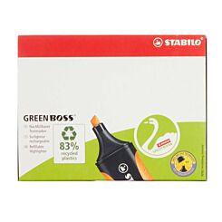 STABILO Green Boss Box Pack of 10 Green