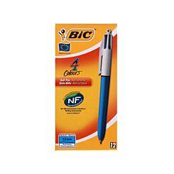 BiC 4 Colours Original Medium Pack of 12