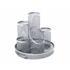 Osco Mesh 5 Tube Pen Pot