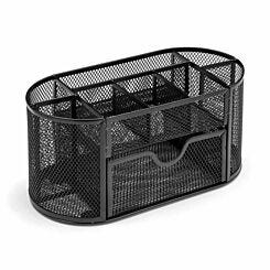 Osco Wiremesh Desk Organiser with Drawer