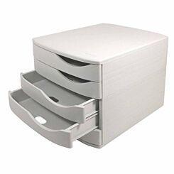 Desktop Drawer Unit 5 Drawers Grey