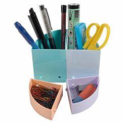 Exacompta Aquarel Pastel Modular Pen Pots Pack of 3