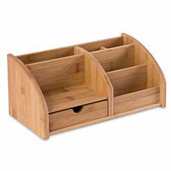 Osco Bamboo Desk Organiser