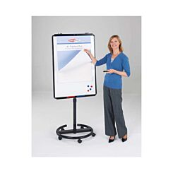 Mobile Ultimate Magnetic Whiteboard Easel 1950x740mm