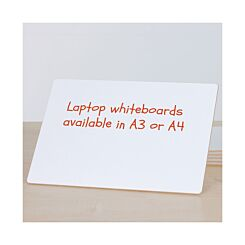 Laptop Whiteboard Handheld For Classroom Use 210x297mm Pack of 6