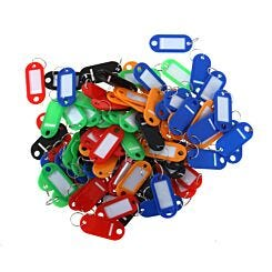 Small Key Tags Pack of 100 Assorted