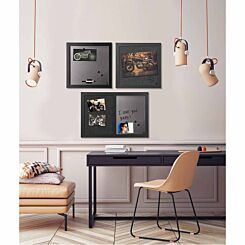 Black Shadow Message Boards Set of 3