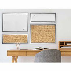 Positive Flow Metallic Silver Message Boards Set of 4
