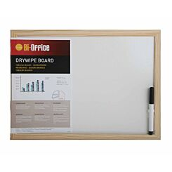 Dry Wipe Board with Pen 400x300mm