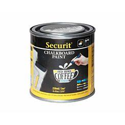 Securit Chalkboard Paint 250ml Black