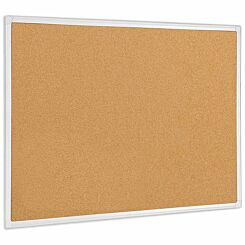Bi-Office Antimicrobial Maya Corkboard 120 x 90cm