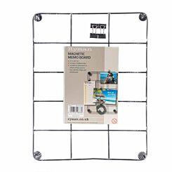 Ryman Memo Board with Clips 217x281mm Black