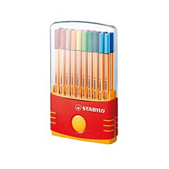 STABILO Point 88 Fineliners Pack of 20