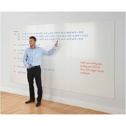 Metroplan WriteOn Whiteboard Wall 876 x 1176mm