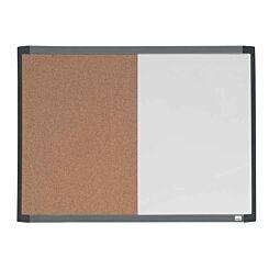 Nobo Magnetic Whiteboard and Corkboard 585 x 430mm
