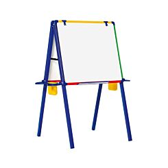 Schoolmate Double Sided Magnetic Drywipe Easel