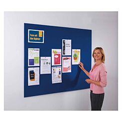 Metroplan Frameless Felt Noticeboard 900 x 1200mm