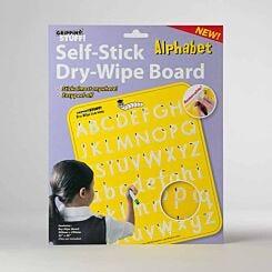 Gripping Stuff Self-Stick Dry Wipe Literacy Aid