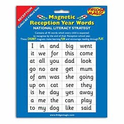 Magnetic Reception Year Words