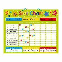Magnetic Reward Star Chart