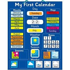 Magnetic My First Calendar