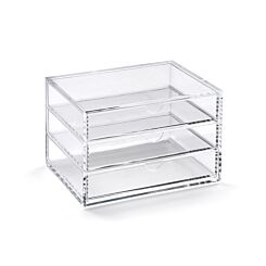 Osco Acrylic 3 Drawer Stationery Chest
