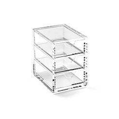 Osco Acrylic 3 Drawer Storage Box Medium A3274