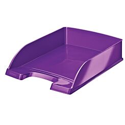 Leitz WOW Letter Tray Purple