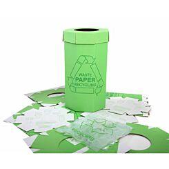 Acorn Recycle Bin 60 Litre Pack of 5