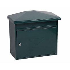 Phoenix Libro MB0115KB Front Loading Mailbox with Key Lock Green
